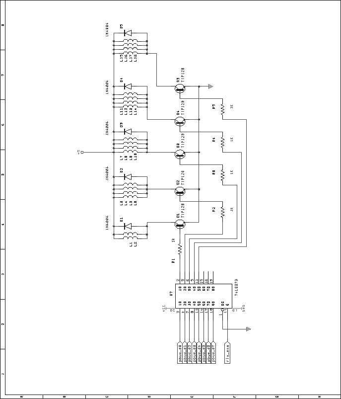 Relay Schematic Relay Driver Schematic