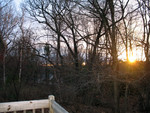 Mid December sunrise off the deck
