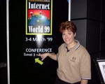 ren infront of internet world '99 sign in singapore