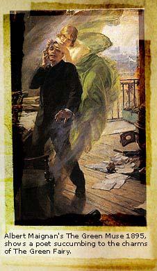 Albert Maignan - 1895 - The Green Muse