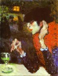 Picasso 1901 The Absinth Drinker