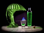 Green fairy lamp