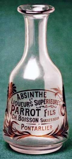 Parrot carafe