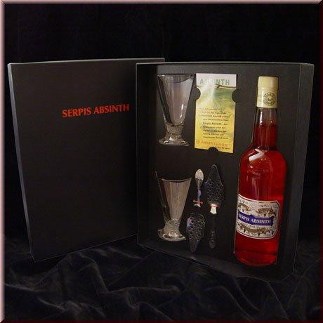 absinth geschenkset serpis classic gift set