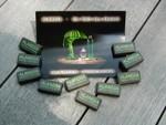 Alandia post card and sugar cubes