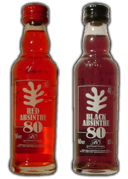 Red and Black absinthe