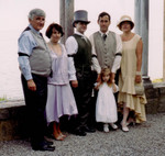 Highlight for Album: Provo & Wachal photos at start of wedding
