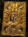 enamel and jewelled bible cover