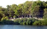 driving across Sudbury Reservoir