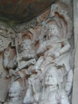 Sadly blurry but interesting demonic figures