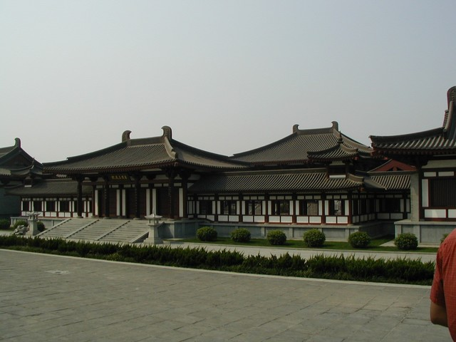 Museum in the courtyard at Ci'en Temple