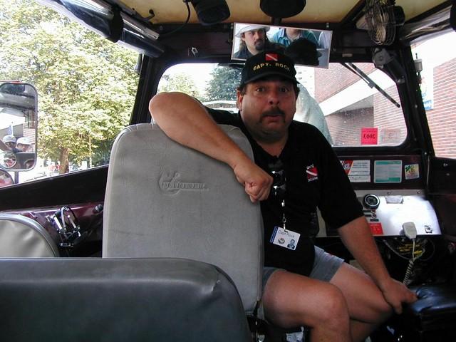 Captain Rock our driver