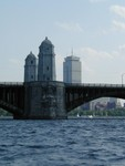 Longfellow Bridge facing the Prudential building