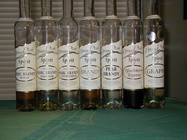 Brandy Peak labels