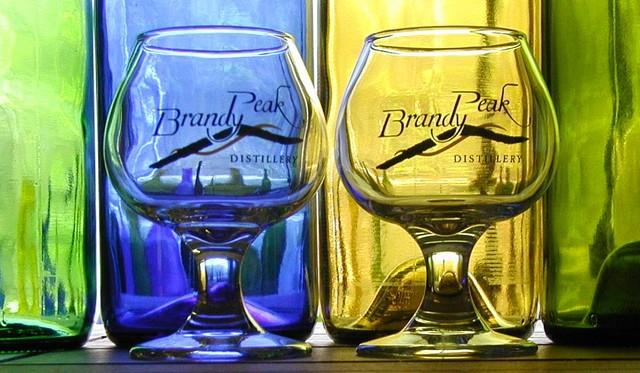 living spirits in glass