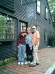 Spike Nancy Tom at the House of the Seven Gables
