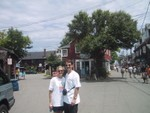 Andrea and Peter Cohen in Rockport