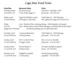 24-Jun-04 - Cape Ann food notes