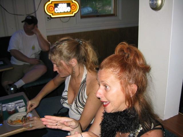 Cheryl and Sharon