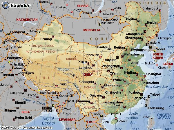 china-country-map