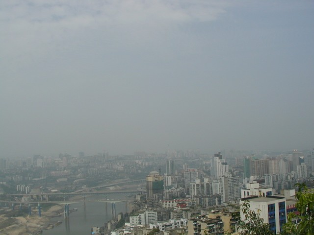 Known as Chung King before WWII, Chongqing has rebuilt most of the river area.