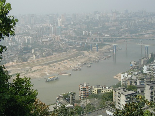 Chongqing will be mostly submerged with the completion of the Great Dam Project.