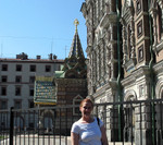 Jen at Church on Spilled Blood