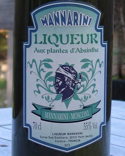 Mannarini label - Corsica