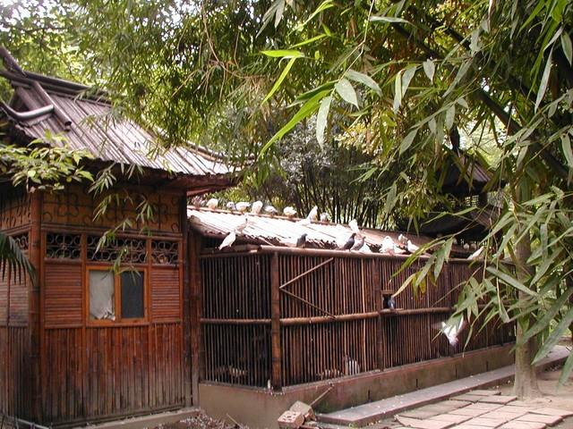 model of Du Fu's thatched cottage