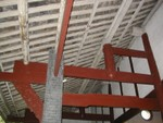 Red roof rafters