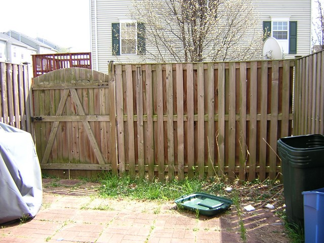 House Backyard Fence : backyard fence