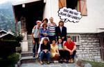 27-Jun-87 - crew at Sala House in Ballabio
