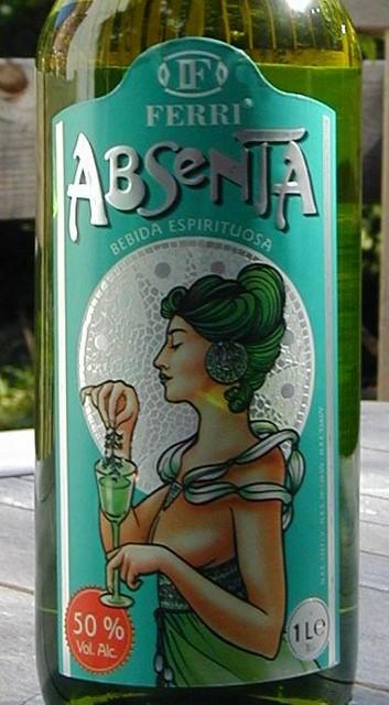 Ferri Absenta label