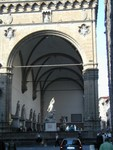 statuary near Uffizi