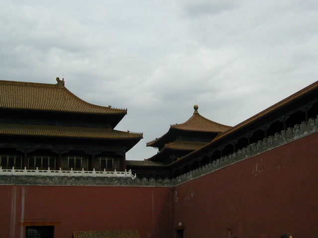 Approaching the Forbidden City Meridian, or Wumen, Gate