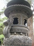 Incence burner in the Imperial Garden, built in 1417.