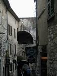 Narrow artisans streets