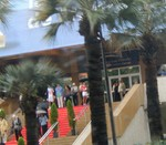 famous Cannes red carpet
