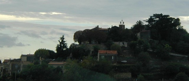 houses on a hill in Provence