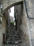 narrow stairs