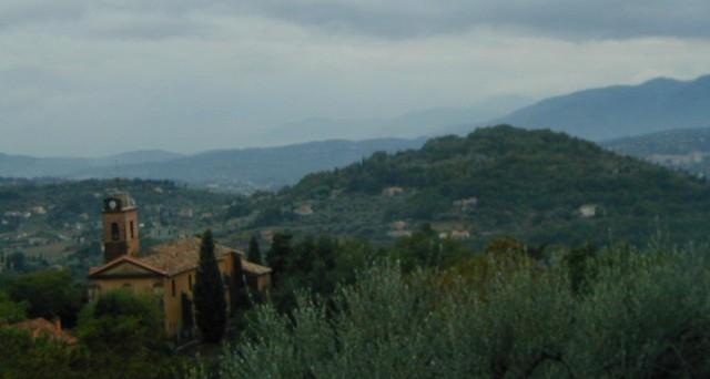 summer rain in Provence