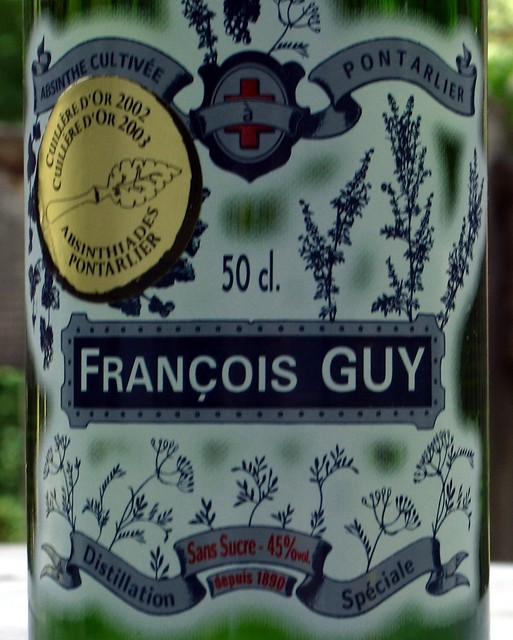 Francois Guy 50 cl label