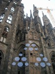 Sagrada Familia section without windows