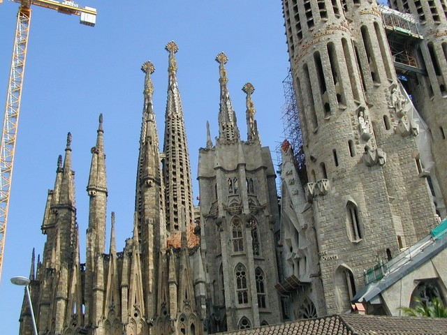 construction on pinnacles
