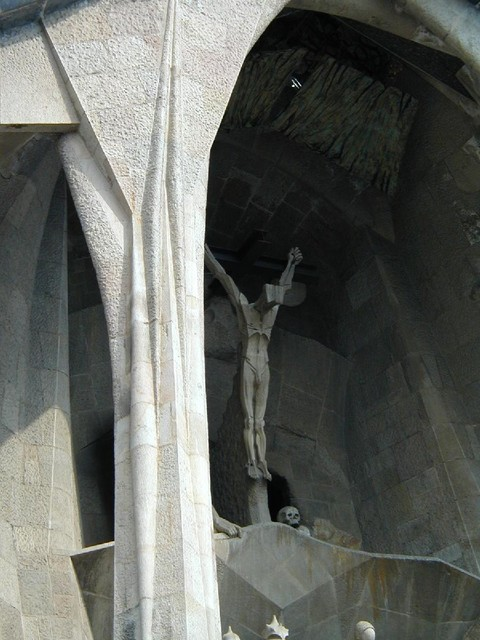 man on cross