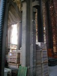 stacks of plaster