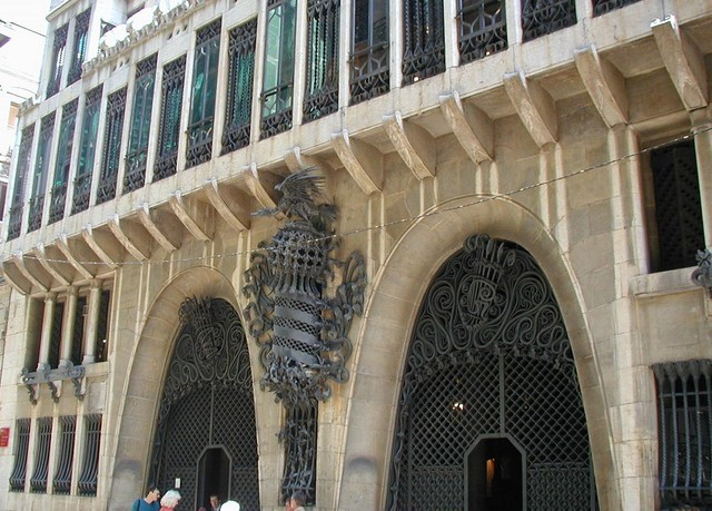 Palau Guell front doors