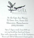 The Gull - logo and location