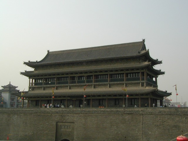 Drum Tower above Ming walls