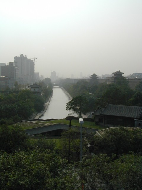 View from Drum Tower